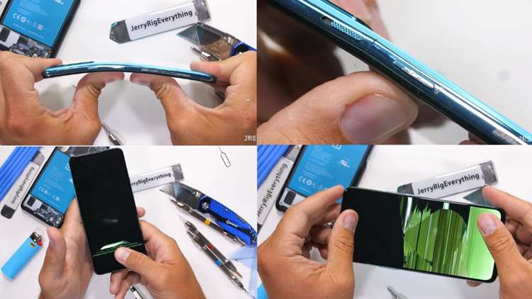OnePlus Nord - Jerry Rig Everything durability test.