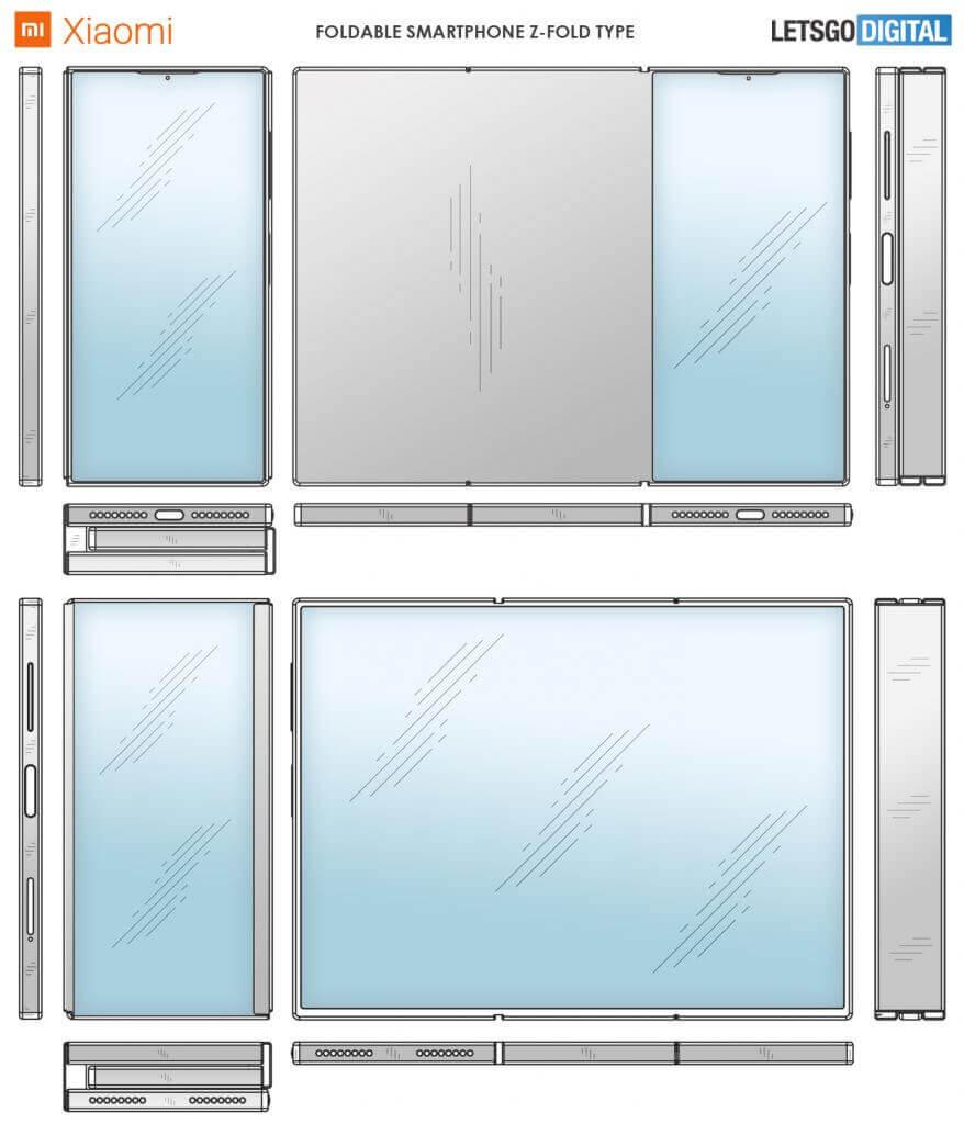 Xiaomi Z Fold prototype
