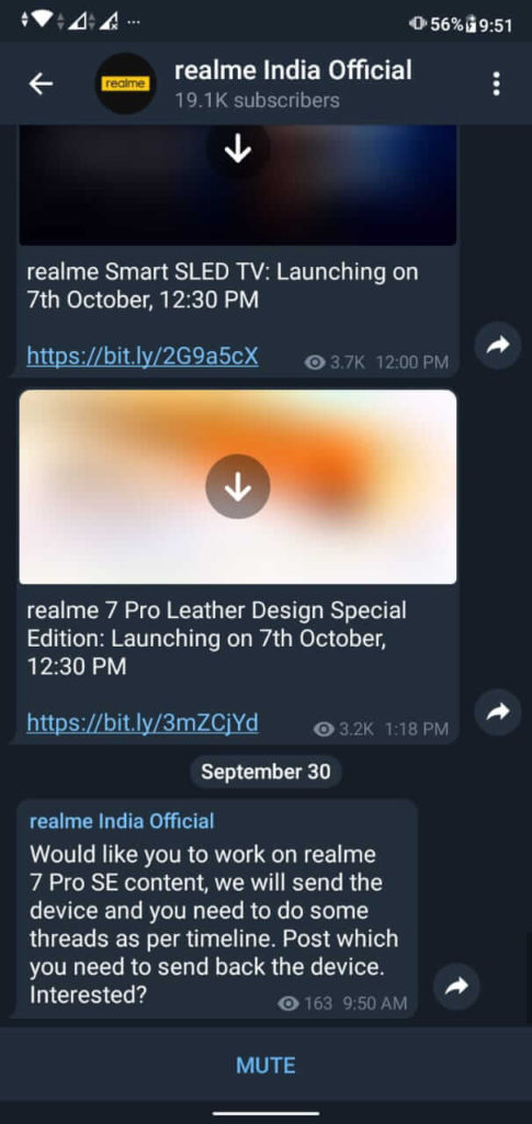 Realme 7 Pro SE and Realme 7i confirmed to launch on October 7 in India