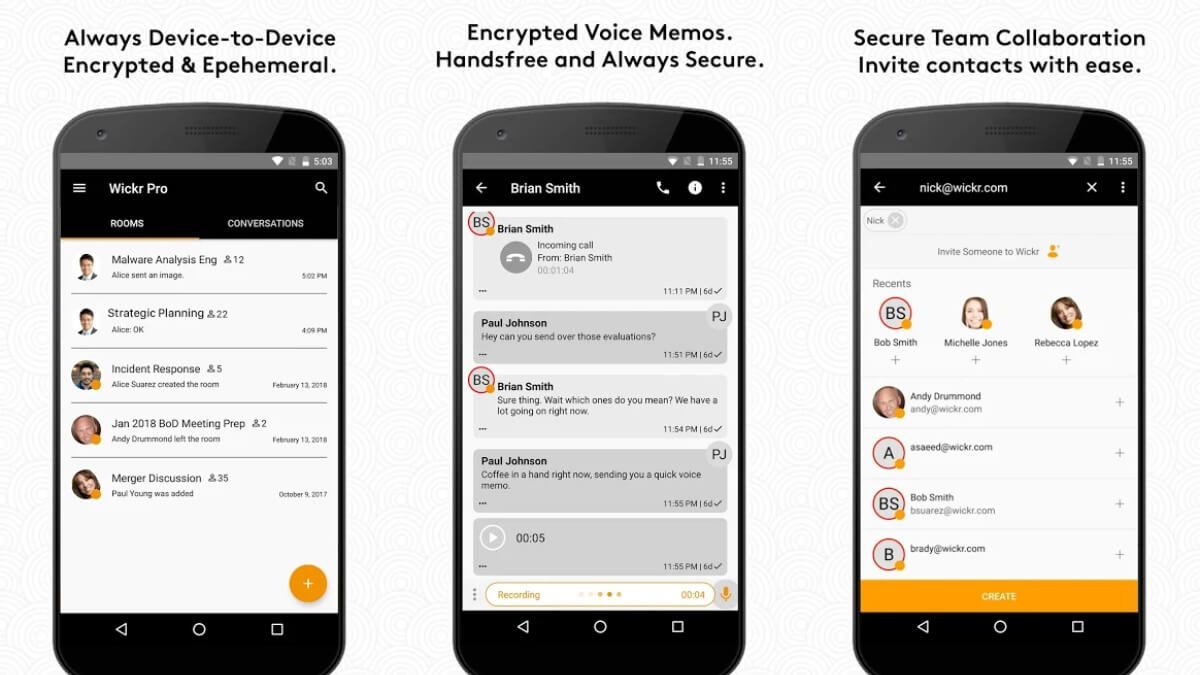 Wickr Me – Private Messenger