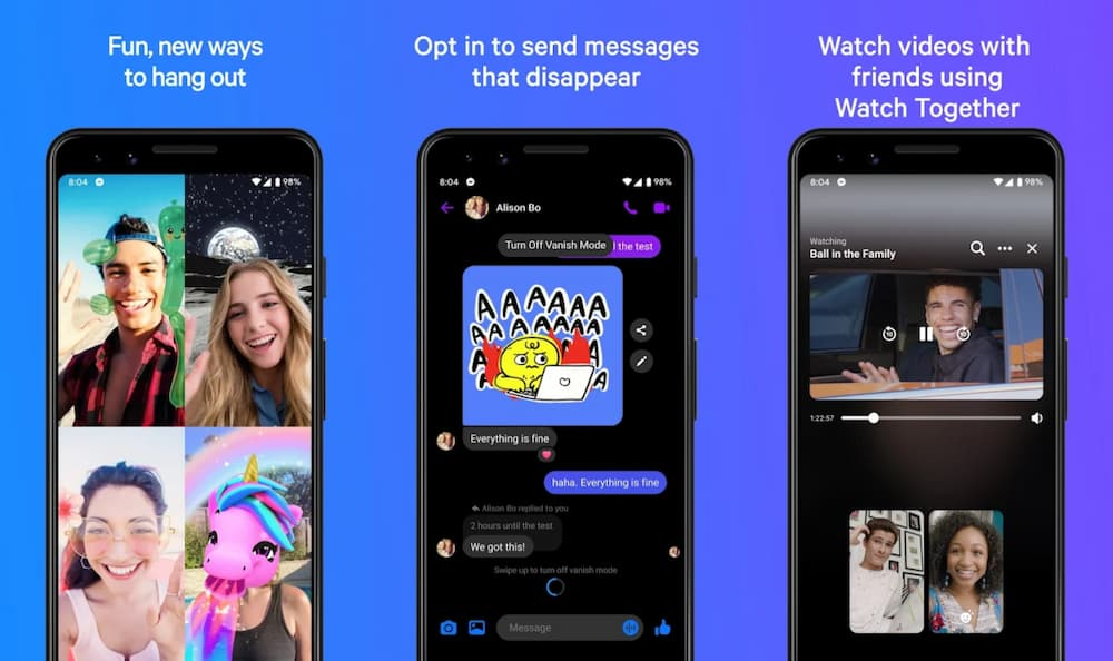Messenger Android app