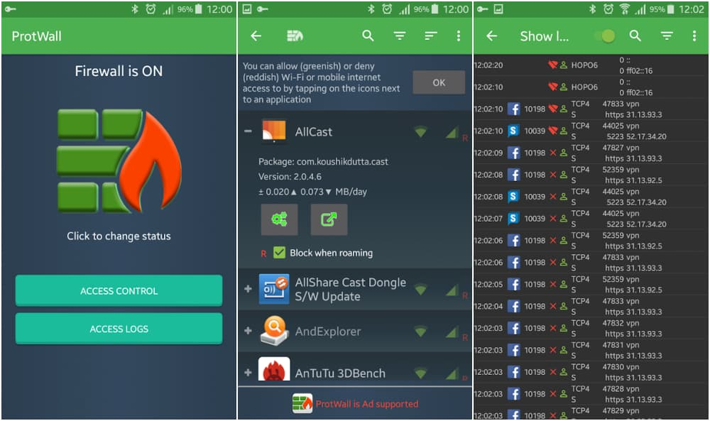 VPN Safe Firewall - Best Firewall For Android in 2021